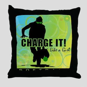 2011 Softball 42 Throw Pillow