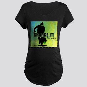 2011 Softball 42 Maternity Dark T-Shirt