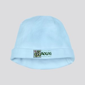 Brown Celtic Dragon baby hat