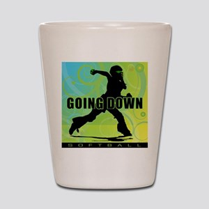 2011 Softball 27 Shot Glass