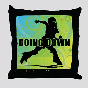 2011 Softball 27 Throw Pillow