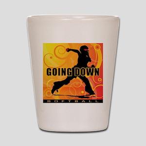 2011 Softball 25 Shot Glass