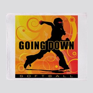2011 Softball 25 Throw Blanket