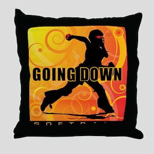 2011 Softball 25 Throw Pillow