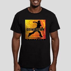 2011 Softball 25 Men's Fitted T-Shirt (dark)