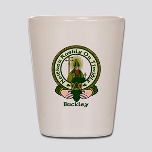Buckley Clan Motto Shot Glass