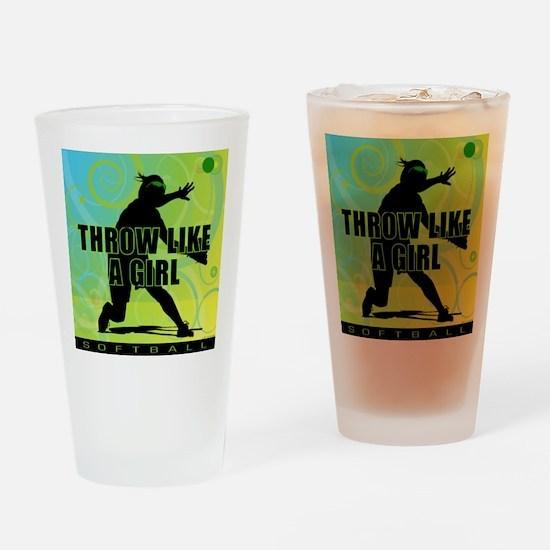 2011 Softball 21 Pint Glass