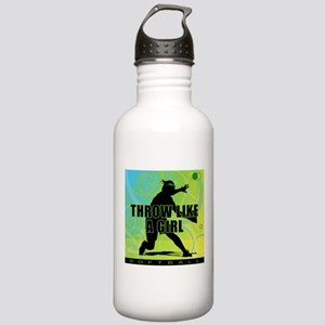 2011 Softball 21 Stainless Water Bottle 1.0L