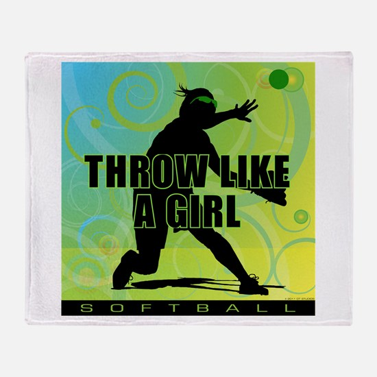 2011 Softball 21 Throw Blanket