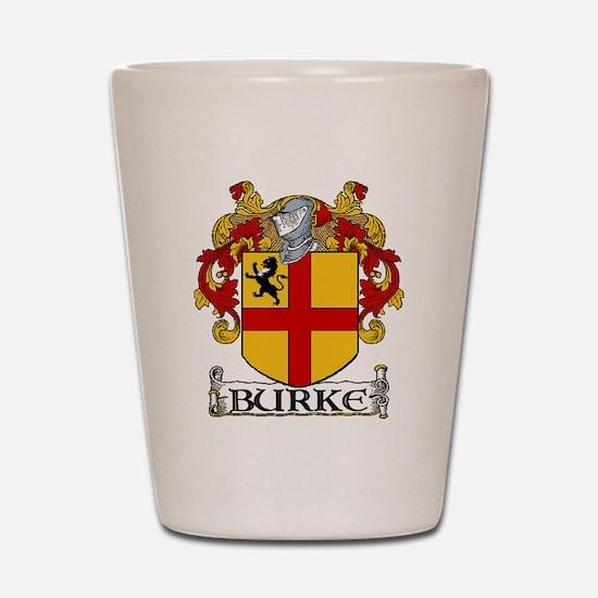 Burke Coat of Arms Shot Glass