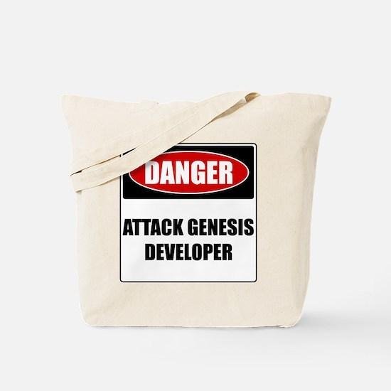 ATTACK GENESIS DEVELOPER Tote Bag