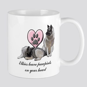 Elkie Pawprints Mug