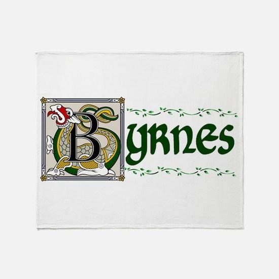 Byrnes Celtic Dragon Throw Blanket