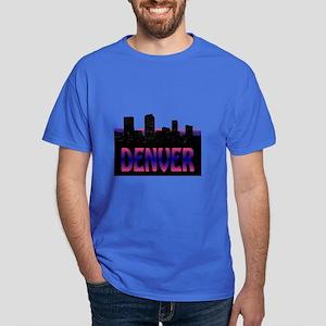 Denver Skyline Dark T-Shirt