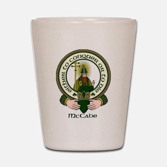 McCabe Clan Motto Shot Glass