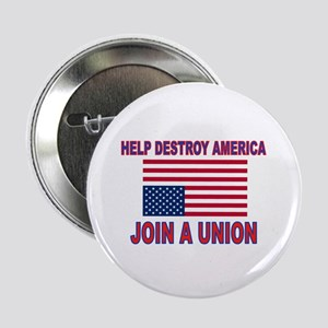 """FIGHT SOCIALISM 2.25"""" Button (10 pack)"""