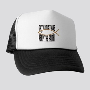 Gay Christians Trucker Hat