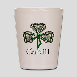 Cahill Shamrock Shot Glass