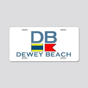 Dewey Beach DE - Nautical Design Aluminum License