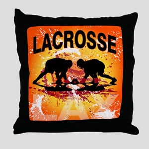 2011 Lacrosse 10 Throw Pillow