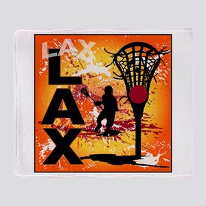 2011 Lacrosse 7 Throw Blanket