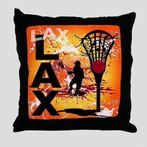 2011 Lacrosse 7 Throw Pillow
