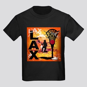 2011 Lacrosse 7 Kids Dark T-Shirt