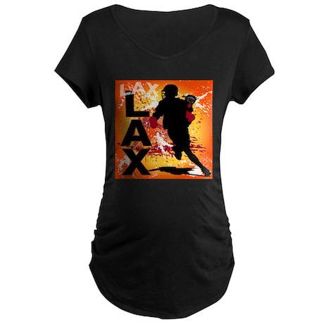 2011 Lacrosse 3 Maternity Dark T-Shirt