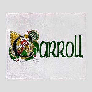 Carroll Celtic Dragon Throw Blanket