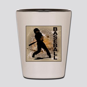 2011 Baseball 10 Shot Glass