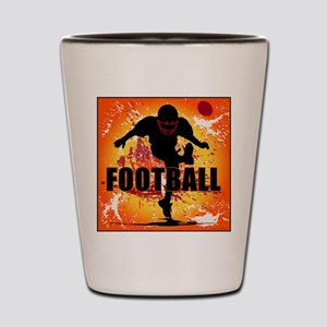 2011 Football 9 Shot Glass
