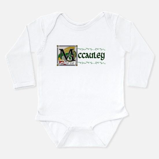 McCauley Celtic Dragon Long Sleeve Infant Bodysuit