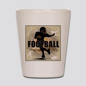2011 Football 4 Shot Glass