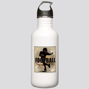 2011 Football 4 Stainless Water Bottle 1.0L