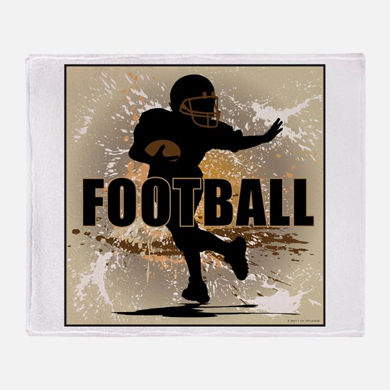 2011 Football 4 Throw Blanket