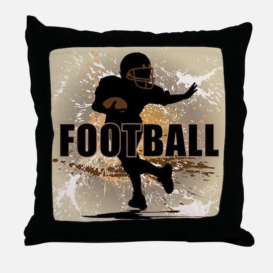 2011 Football 4 Throw Pillow