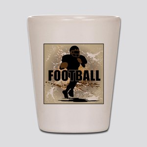 2011 Football 1 Shot Glass