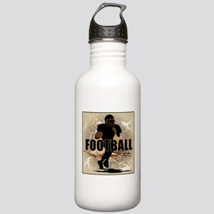 2011 Football 1 Stainless Water Bottle 1.0L