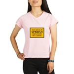 The Sign is in Spanish Women's Sports T-Shirt