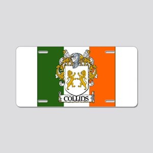 Collins Tricolour Aluminum License Plate