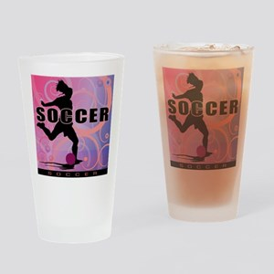 2011 Girls Soccer 2 Pint Glass