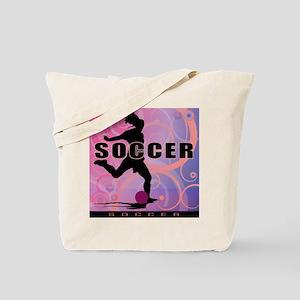 2011 Girls Soccer 2 Tote Bag