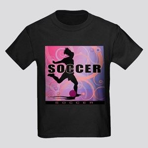 2011 Girls Soccer 2 Kids Dark T-Shirt