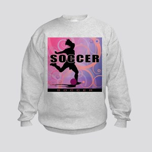 2011 Girls Soccer 2 Kids Sweatshirt