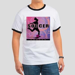 2011 Girls Soccer 2 Ringer T