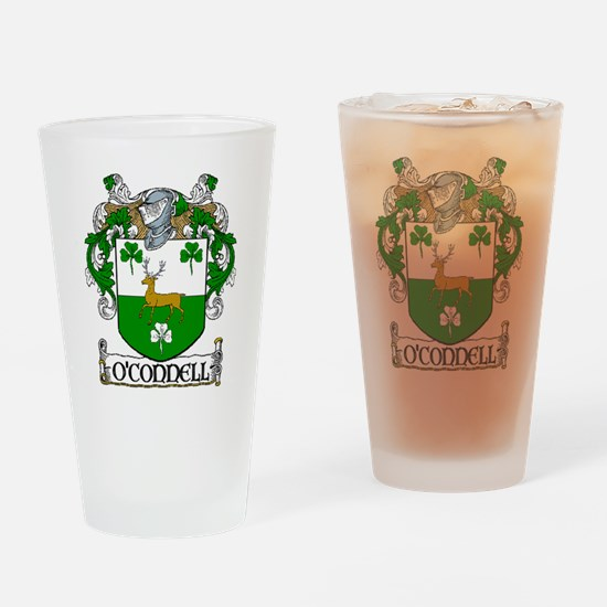 O'Connell Coat of Arms Drinking Glass