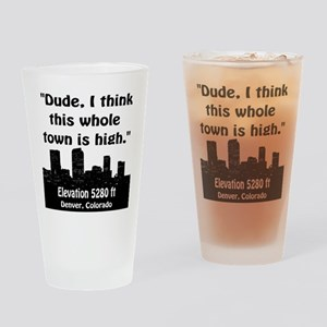 High City Pint Glass