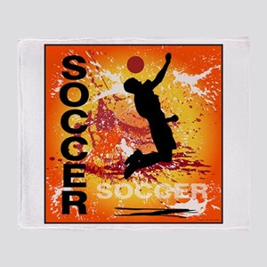 2011 Boys Soccer 1 Throw Blanket