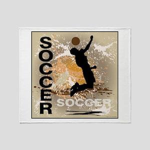 2011 Boys Soccer 3 Throw Blanket