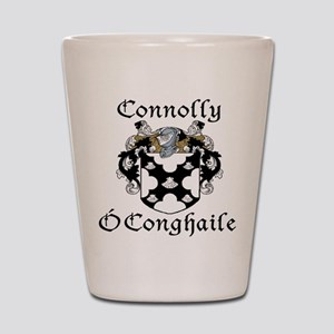 Connolly in Irish/English Shot Glass
